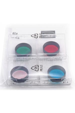 """CCD RGB Filtersatz für Einsteiger 1 1/4"""" (3 Farbfilter + IR-Cut)"""