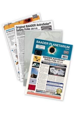 AstroSolar Safety Folie 5.0 Visuel 20x30cm und 100x50cm