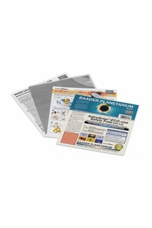 AstroSolar Safety Folie 5.0 Visuel 20x30cm und 100x50cm AstroSolar® ECO-size Safety Folie 5.0, 140x155 mm