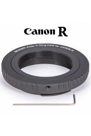 Wide-T-Ring Canon R mit D52i auf T-2 und S52