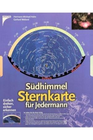 Südhimmel-Sternkarte für Jedermann, Hahn-Weiland Kosmos