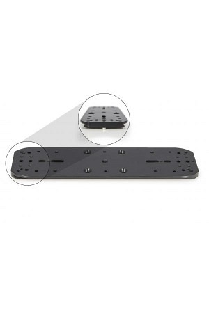 Baader double mounting plate and holder for
